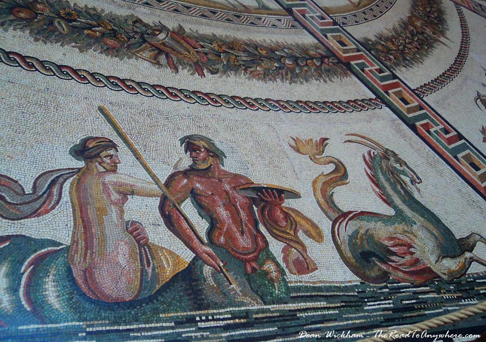 Mosaic Floor in the Vatican City