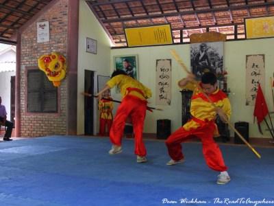 Martial Arts performance in Hue, Vietnam