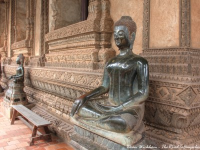 Buddha Statue at Ho Phra Keo in Vientiane, Laos