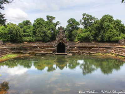 Neak Pean in Angkor, Cambodia