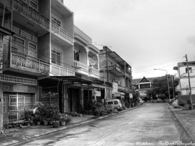Empty Street in Pakse, Laos