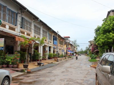 Street in Kampot, Cambodia