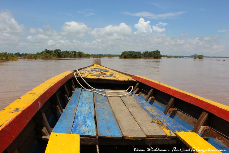 Searching for Irrawaddy Dolphins on the Mekong River in Kratie, Cambodia