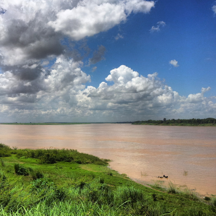 Mekong View in Kampong Cham, Cambodia