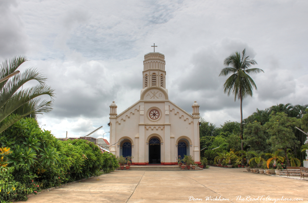 Catholic church in Savannakhet, Laos