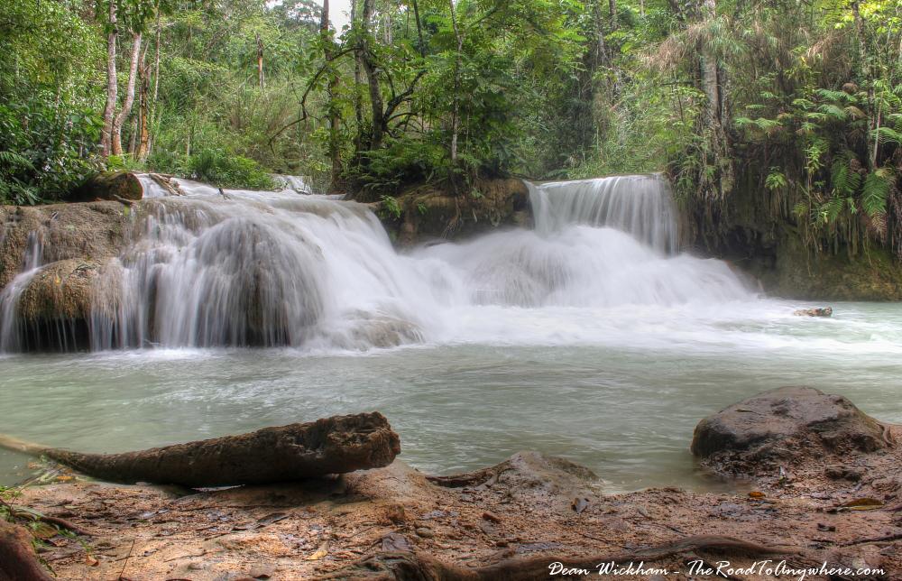 Cascade at Kuang Si, Laos