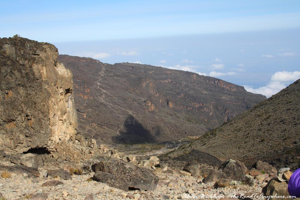 Barranco Valley on Mount Kilimanjaro, Tanzania