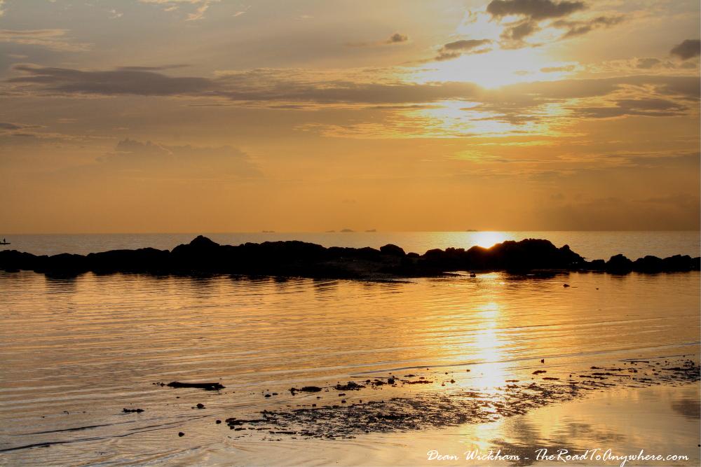 Silvery Ocean on Koh Phangan, Thailand