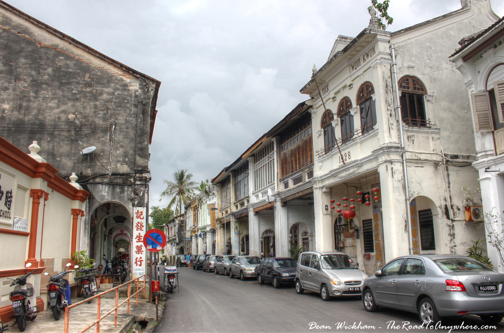 Love Lane in Chinatown, Penang, Malaysia