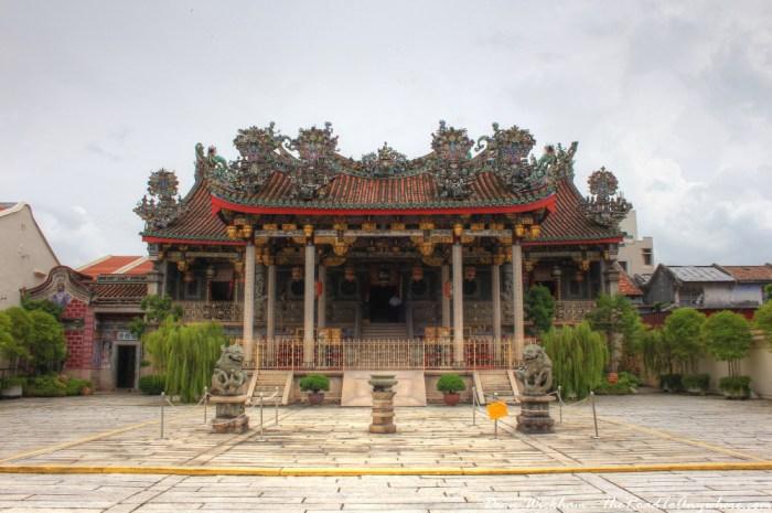 Khoo Kongsi Clanhouse in George Town, Penang, Malaysia