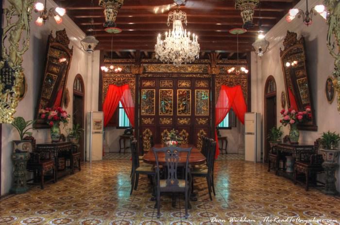Pinang Peranakan Mansion in George Town, Penang, Malaysia