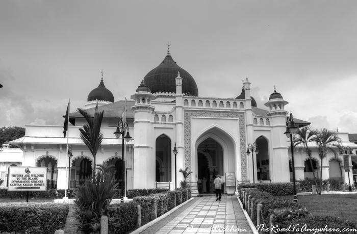 Kapitan Keling Mosque in Penang, Malaysia