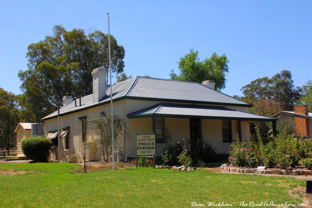 Old Police Station in Glenrowan, Australia