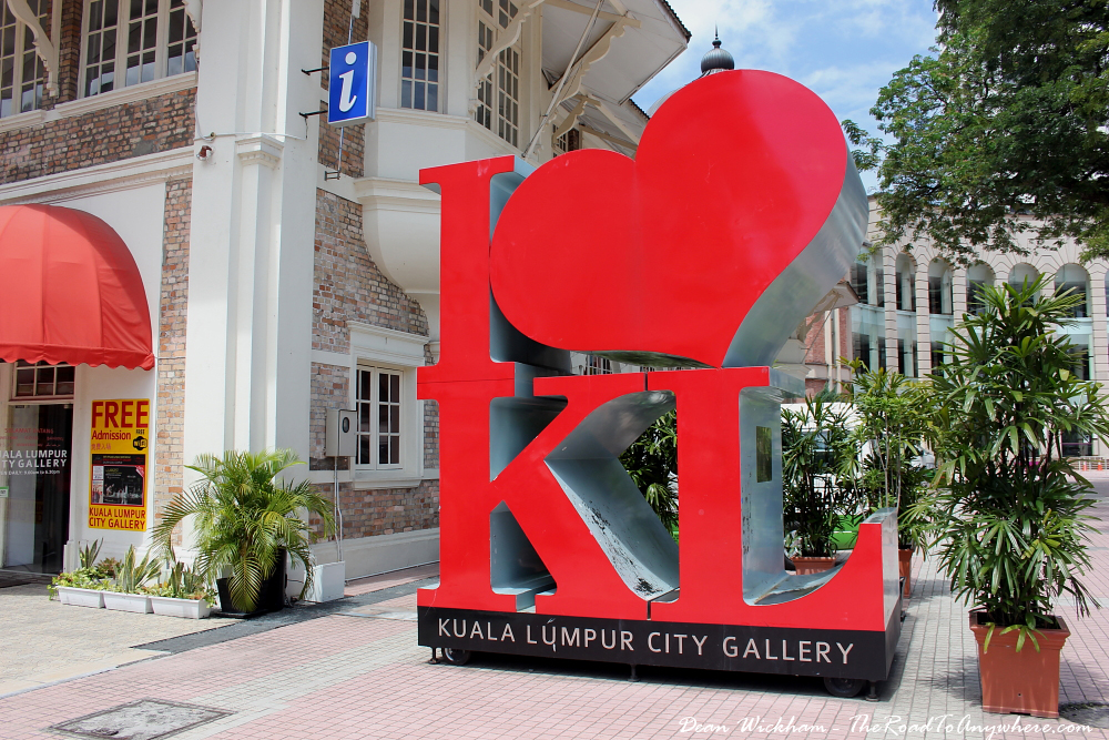 I Love KL - City Gallery at Merdeka Square in Kuala Lumpur, Malaysia
