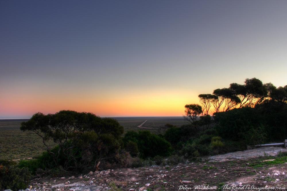 Sunset View in Eucla, Western Australia