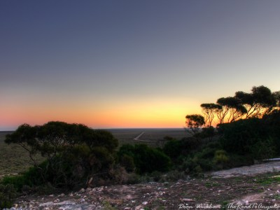 Sunset View in Eucla, Western Australia
