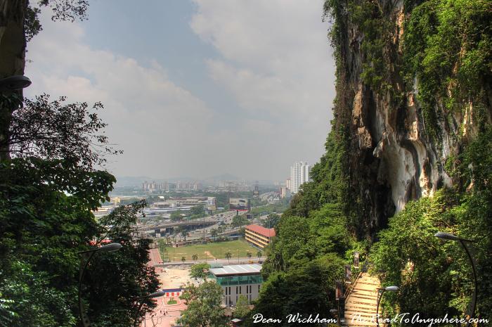City view at Batu Caves in Kuala Lumpur, Malaysia