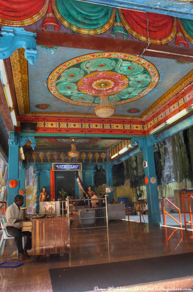 Hindu temple at Batu Caves in Kuala Lumpur, Malaysia