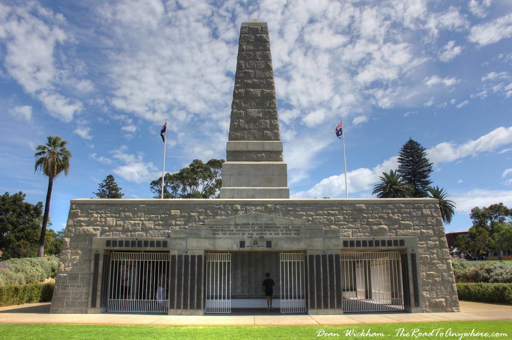 War Memorial in Kings Park in Perth, Western Australia