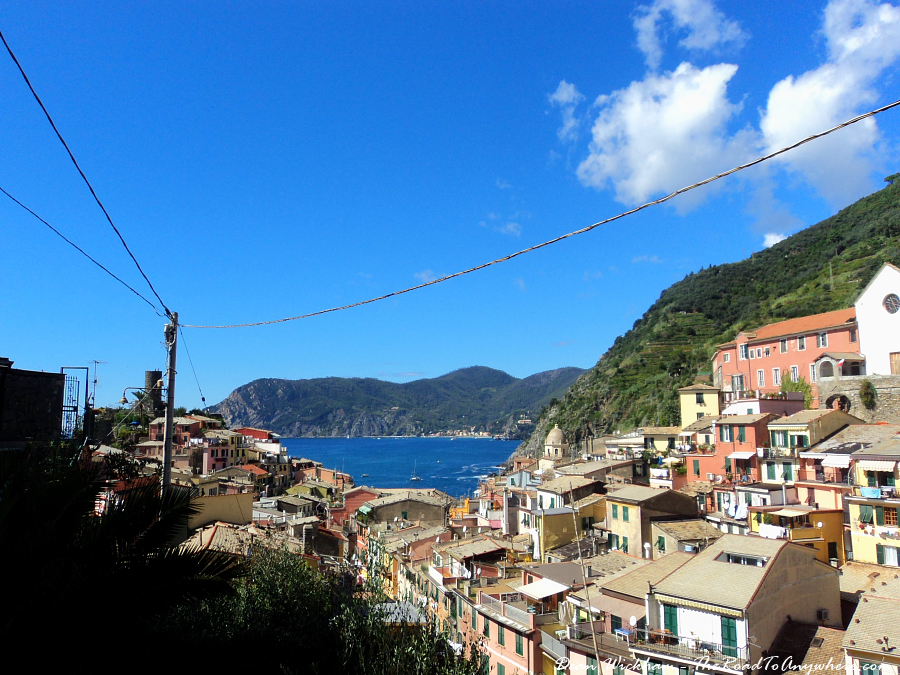 Rooftop View in Vernazza, Italy