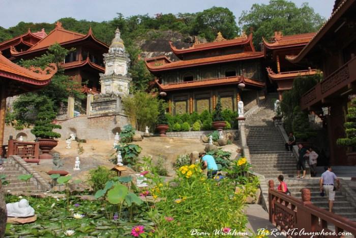 Phuoc Dien Tu Pagoda in the Mekong Delta, Vietnam