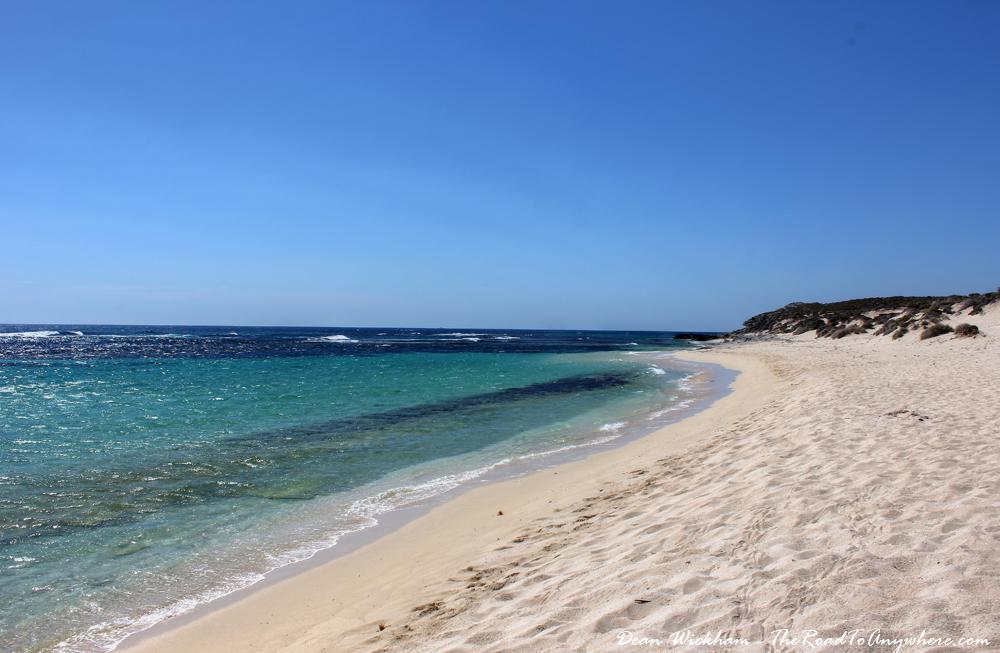 Ricey Beach on Rottnest Island, Western Australia