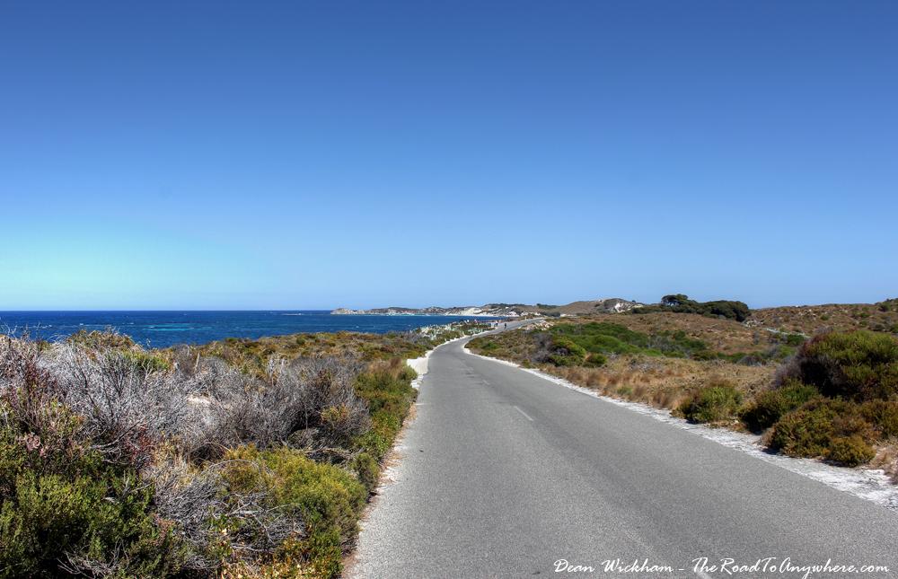 Road on Rottnest Island, Western Australia