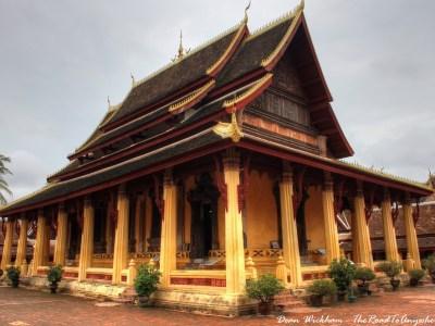The Viharn at Wat Si Saket in Vientiane, Laos