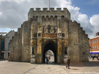 Bargate in Old Town Southampton, England