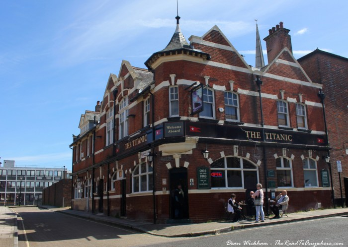 The Titanic pub in Southampton, England