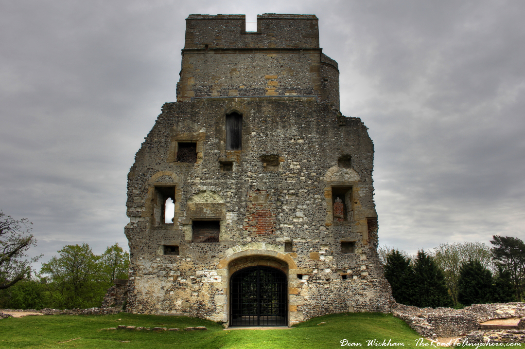 Interior view of the Gatehouse at Donnington Castle, Berkshire, England