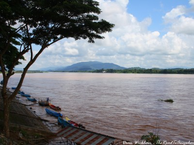 View of Mekong River in Chiang Saen, Thailand
