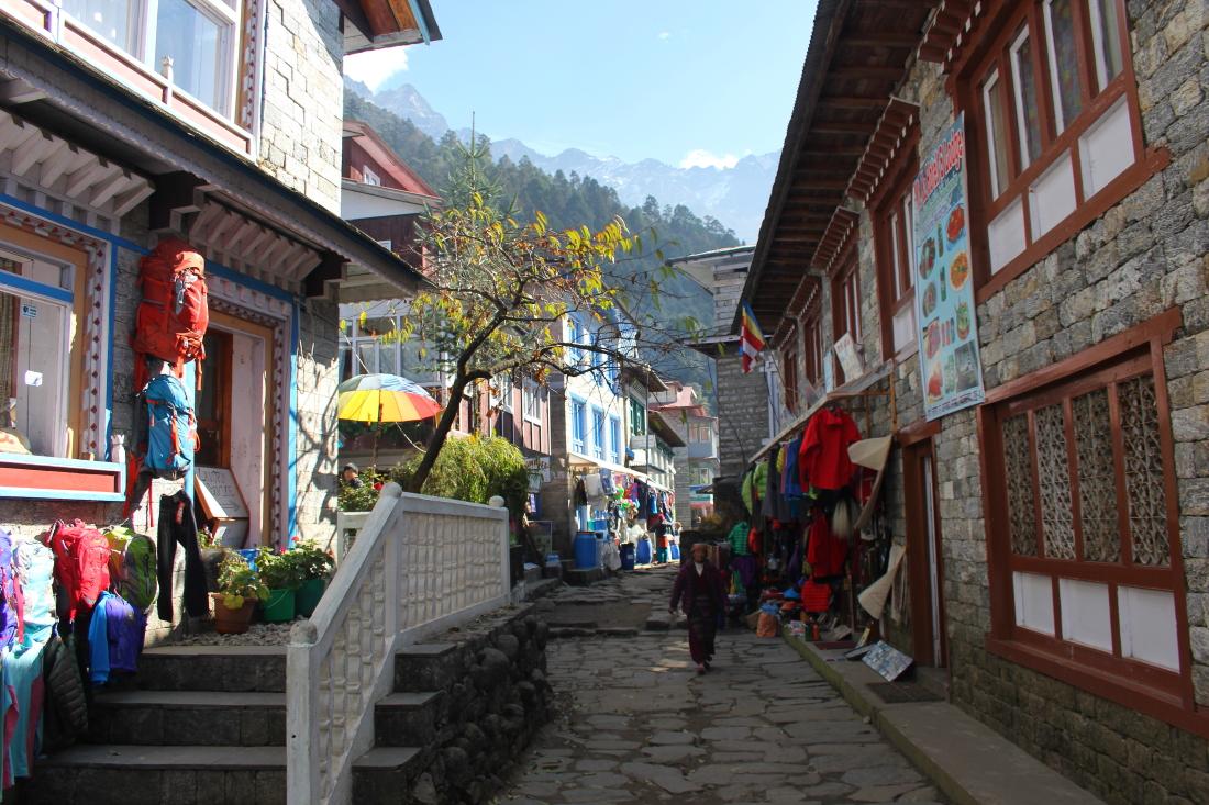 Lukla in Nepal