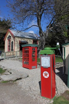 Old fuel pump in Cardrona, New Zealand