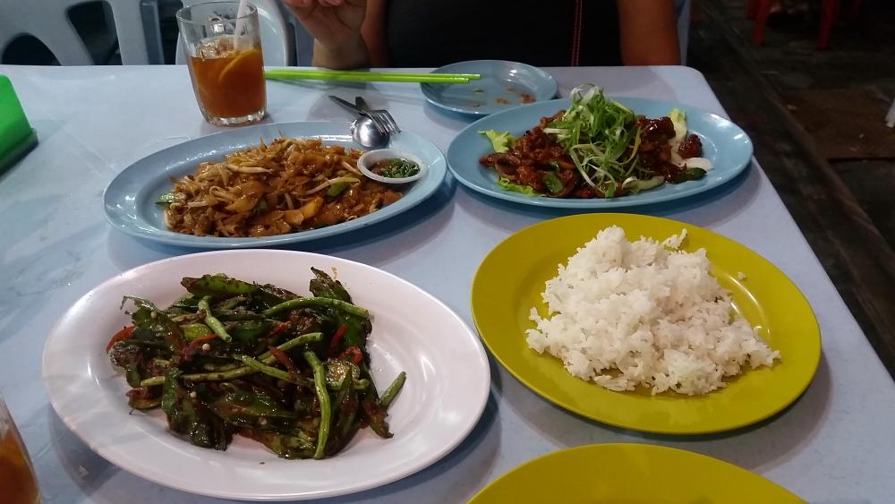 Jalan Alor Street Food Kuala Lumpur