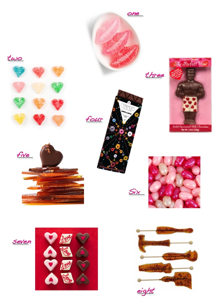 Candy to keep your valentines day sweet