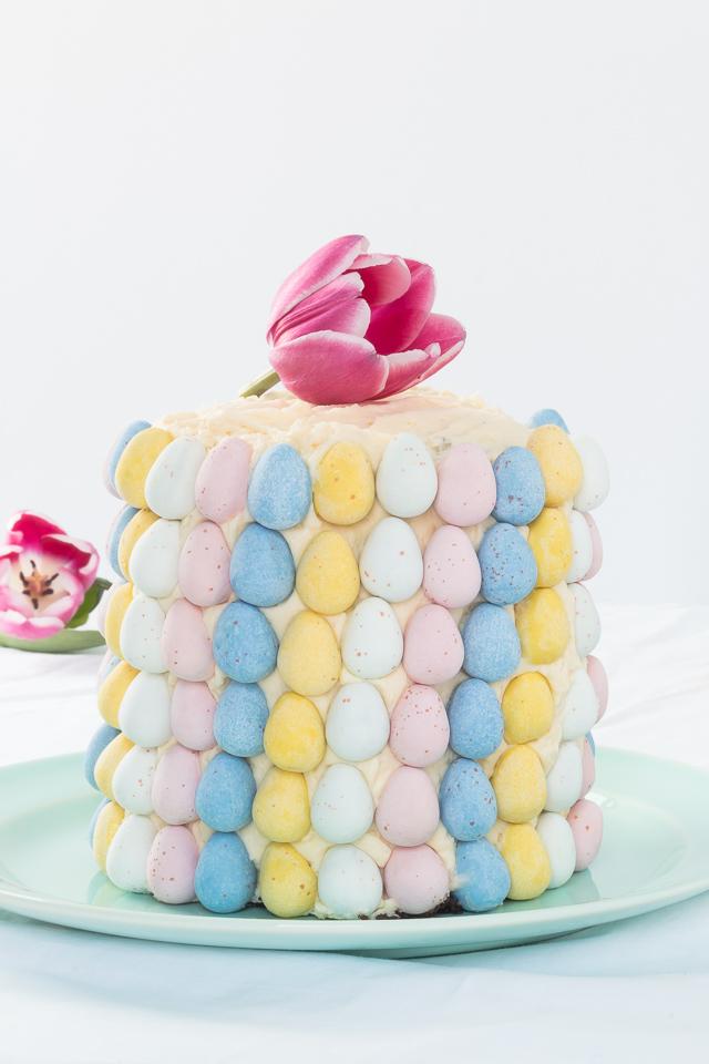 Chocolate Easter Egg Cake Recipe