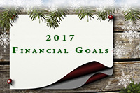 Financial goals for 2017