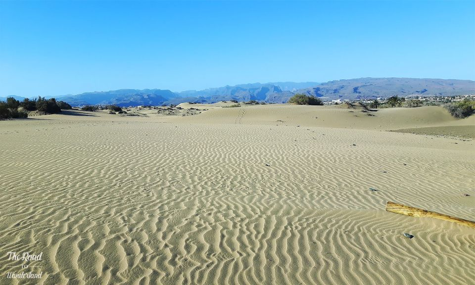 Landscapes of Gran Canaria: Sand dunes at Maspalomas