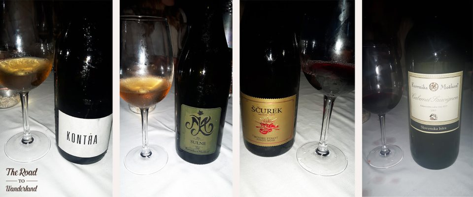 A selection of red wines from the vinoo.co wine cruise