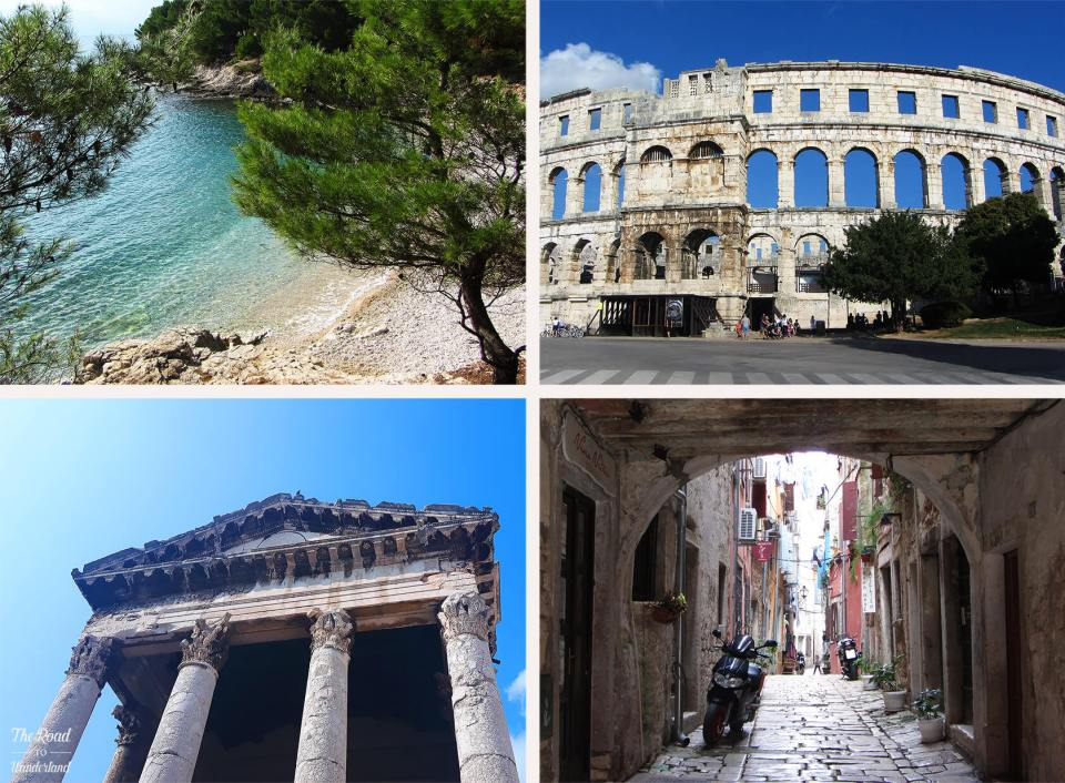 Review of 2016: Pictures from Pula and Rovinj
