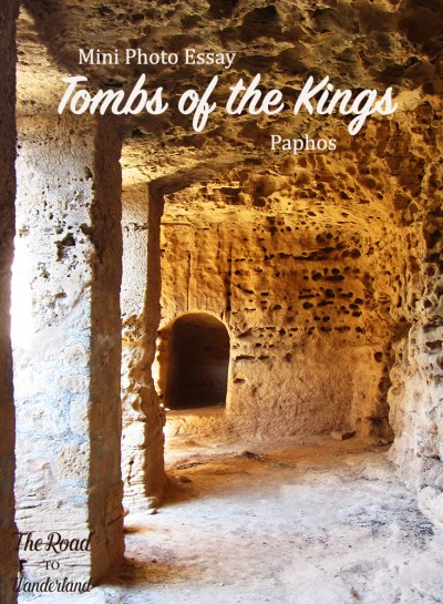 Tombs of the Kings, Paphos, Pinterest image