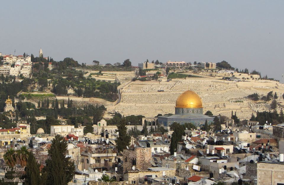 Religious sites in Jerusalem: Mount of Olives