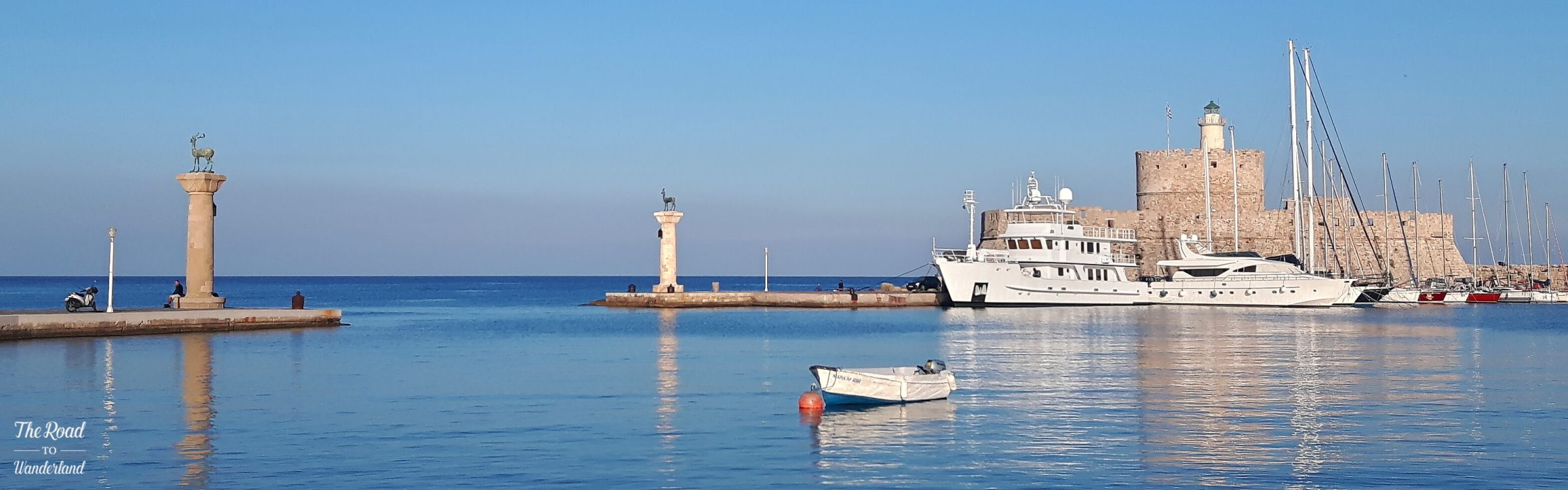 Rhodes Mandraki Harbour