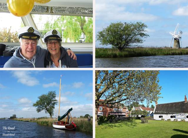 2018 Travel Review: Images from Norfolk, UK – Mum & Dad on their Golden Wedding, views on the Norfolk Broads, and Horning