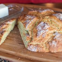 Cheese and Herb Irish Soda Bread (gluten-free)