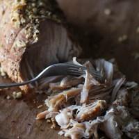 Cider-Chai Crock Pot Pulled Pork
