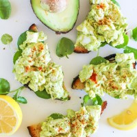 Avocado Egg Salad (mayo-free!)