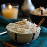 Crock Pot Rice Pudding (Vegan and Naturally Sweetened)