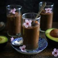 4-Ingredient Raw Chocolate Mousse (Paleo)